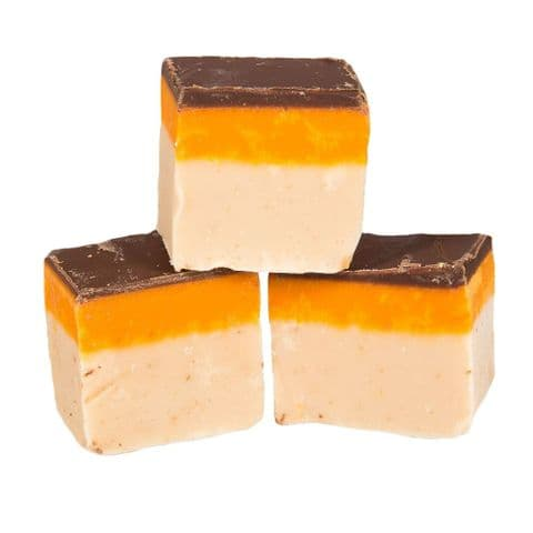 Jaffa Cake Chocolate Orange Flavour Luxury Hand Made Fudge Factory