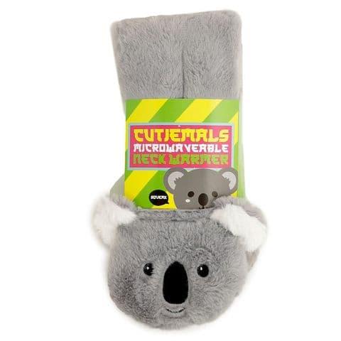 Koala Plush Neck Warmer Wheat & Lavender Heat Pack Puckator