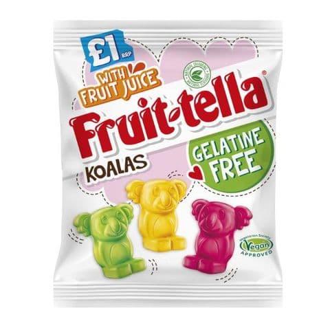 Koalas Fruit-Tella Gelatine Free Sweets 100g