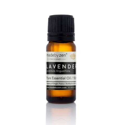 Lavender - Classic Scented Pure Essential Oil Made By Zen 10ml