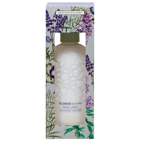 Lavender Garden - RHS Flower Blooms Scented Body Lotion 300ml Heathcote & Ivory