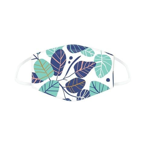 Leaves Reusable Adult Face Covering Washable 2 Layer Soft Mask