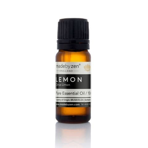 Lemon - Classic Scented Pure Essential Oil Made By Zen 10ml