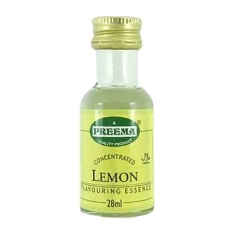 Lemon Concentrated Flavouring Essence Preema 28ml