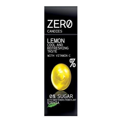 Lemon Hard Candy No Added Sugar Free Sweets Zero Candies 32g