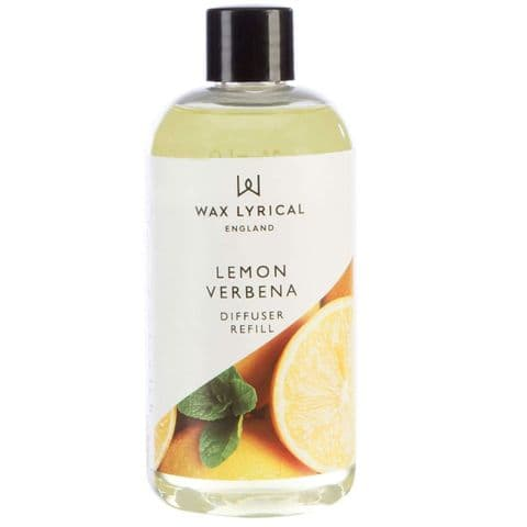 Lemon Verbena Fragranced Reed Diffuser Refill Made In England Wax Lyrical 200ml
