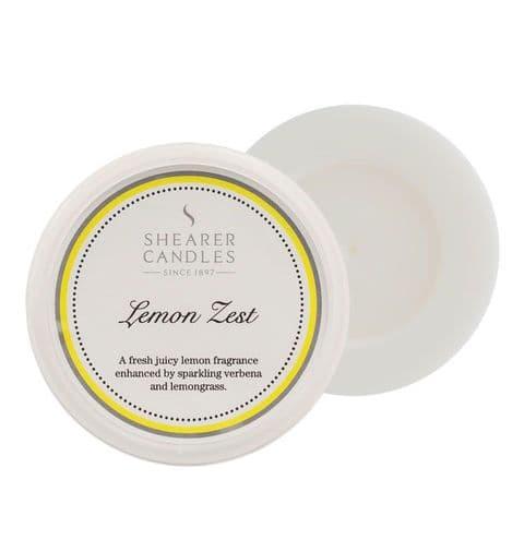 Lemon Zest Scented Wax Melt - Shearer Candles
