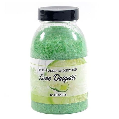 Lime Daiquiri Non-Foaming Bath Salts - Bath Bubble & Beyond 300g
