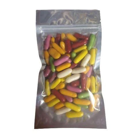 Liquorice Comfits Sweets Taveners 200g