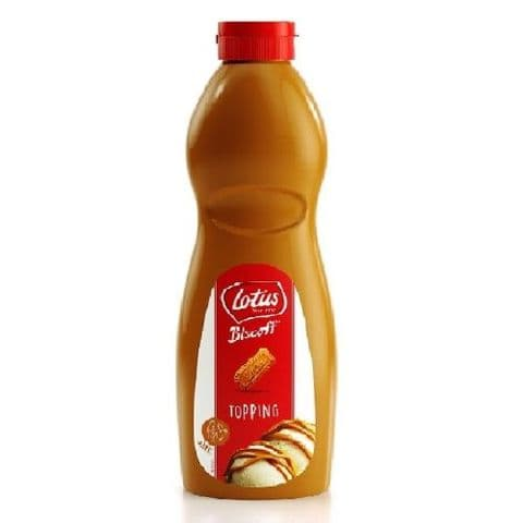 Lotus Biscoff Topping Caramel Sauce Bottle 1kg