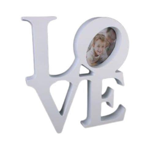 Love Letters White  Photograph Frame St Valentine's Gift