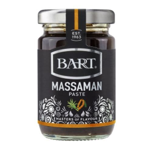 Massaman Thai Curry Paste Mild Spice Infusions Jar Bart 105g