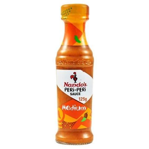Medium Nando's Peri-Peri Sauce 125g