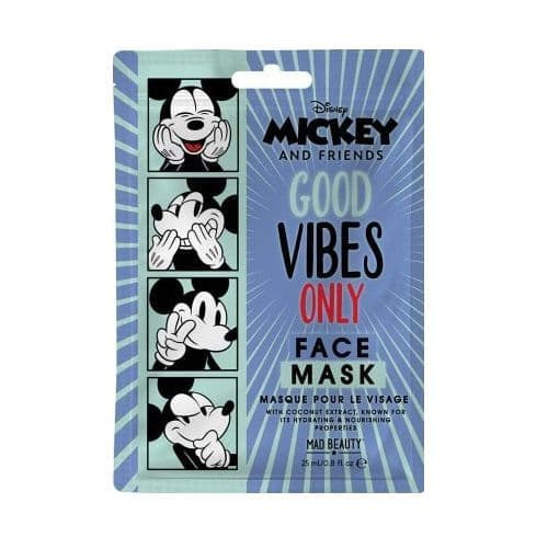 Mickey Mouse Coconut Scented Disney Mickey And Friends Sheet Face Mask Mad Beauty
