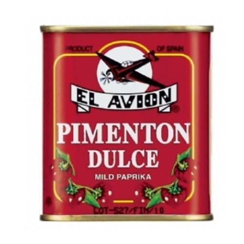 Mild Paprika Pimenton Dulce Spice El Avion 75g (Spanish Cooking)