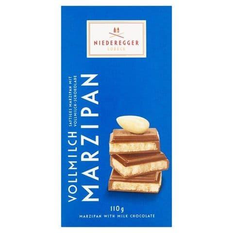 Milk Chocolate Marzipan Niederegger Bar 110g