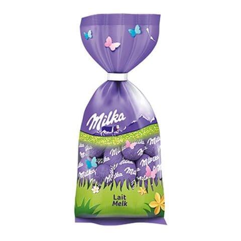 Milk Melk Lait Chocolate Mini Easter Eggs - Milka Bag 100g