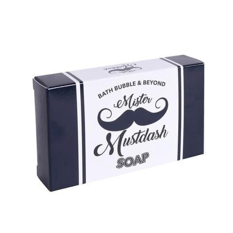 Mister Mustdash Masculine Scented Glycerin Soap Slice - Bath Bubble & Beyond 120g