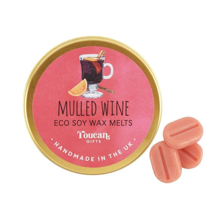 Mulled Wine - Christmas Eco Soy Wax Melts Magik Beanz Busy Bee Candles