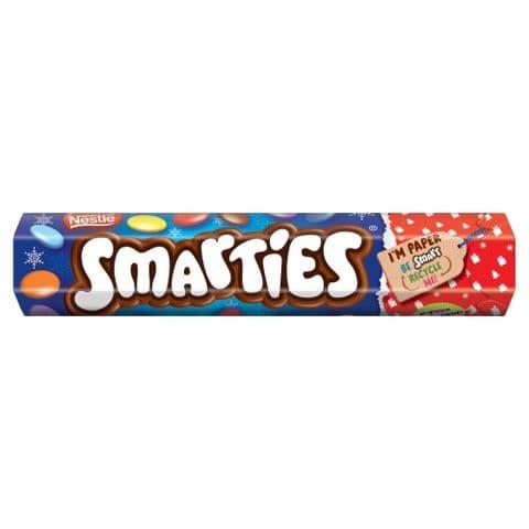 Nestle Smarties Chocolates Sweet Giant Tube 120g