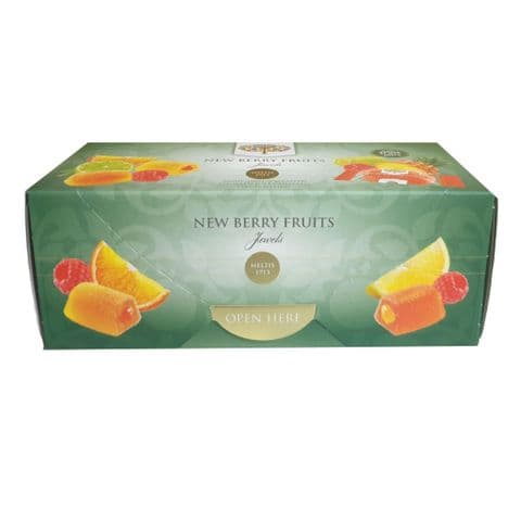 New Berry Fruits Jewels Soft Fruit Jellies Meltis 300g