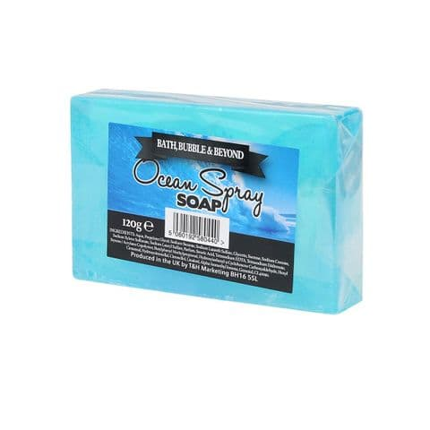 Ocean Spray Glycerin Soap Slice - Bath Bubble & Beyond 120g