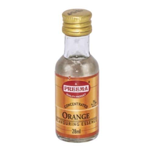 Orange Concentrated Flavouring Essence Preema 28ml