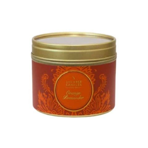 Orange Pomander Scented Filled Tin - Shearer Candles