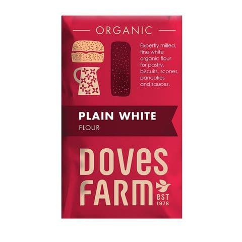 Organic Plain White Flour Doves Farm 1kg
