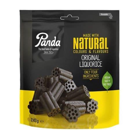 Original Liquorice - Vegan Natural Sweets Panda 240g