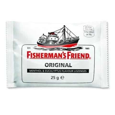 Original Menthol & Eucalyptus Flavour Lozenges Fisherman's Friend 25g