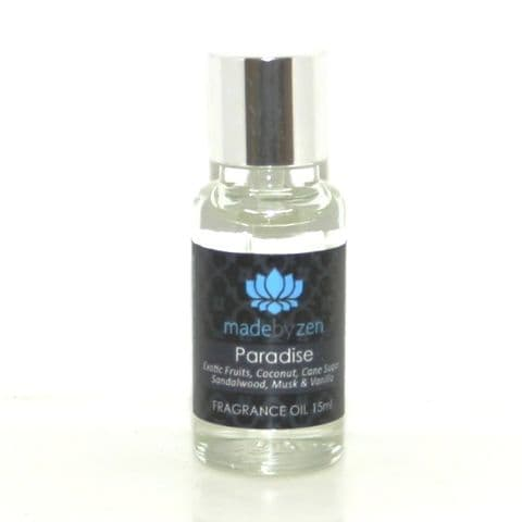 Paradise - Signature Scented Fragrance Oil Made By Zen 15ml
