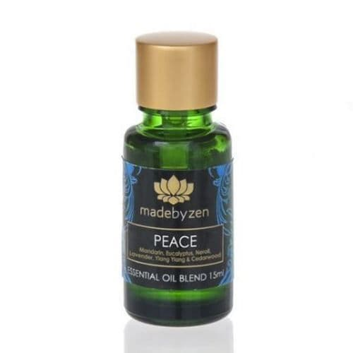 PEACE Purity Range - Scented Essential Oil Blend Made By Zen 15ml