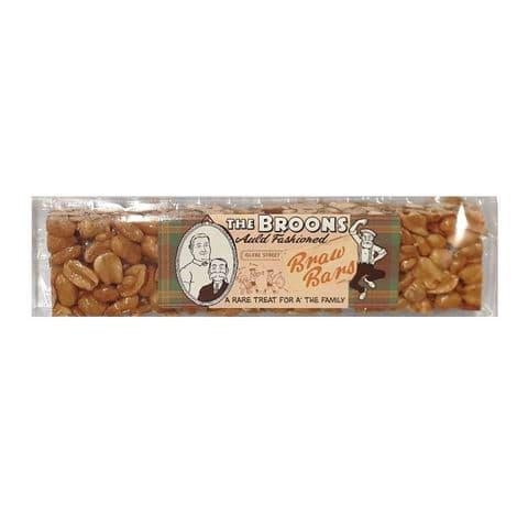 Peanut Brittle Braw Bars Sweets Maw Broon's Kitchen 100g