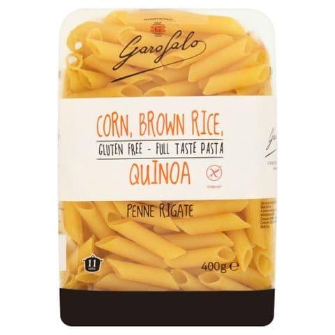 Penne Rigate Gluten Free Pasta (Corn, Brown Rice, Quinoa) Garofalo 400g
