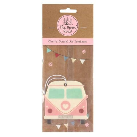 Pink Camper Van Cherry Scented Car Air Freshener Jones Home & Gift
