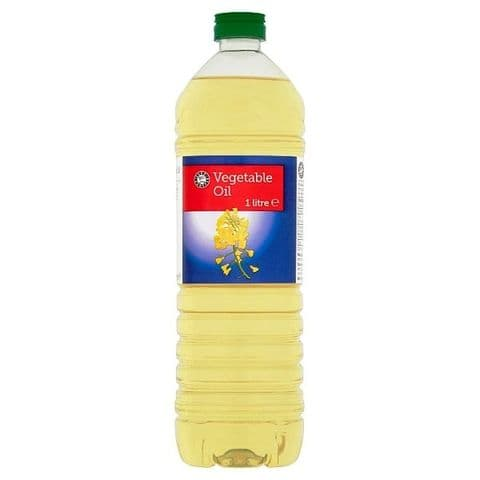 Rapeseed Vegetable Oil Happy Shopper 1 Litre