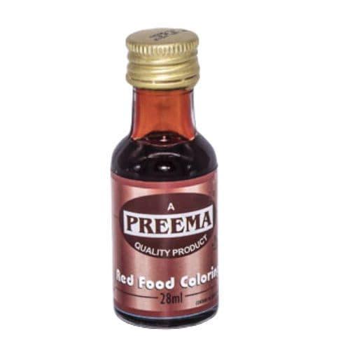 Red Food Colouring Preema 28ml