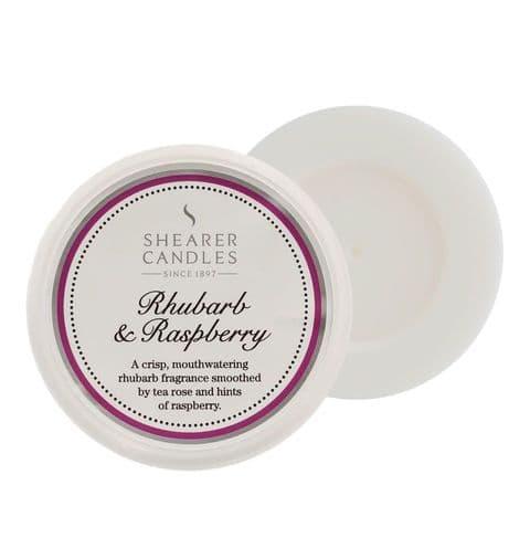 Rhubarb & Raspberry Scented Wax Melt - Shearer Candles