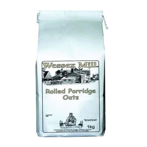 Rolled Porridge Oats Wessex Mill 1kg