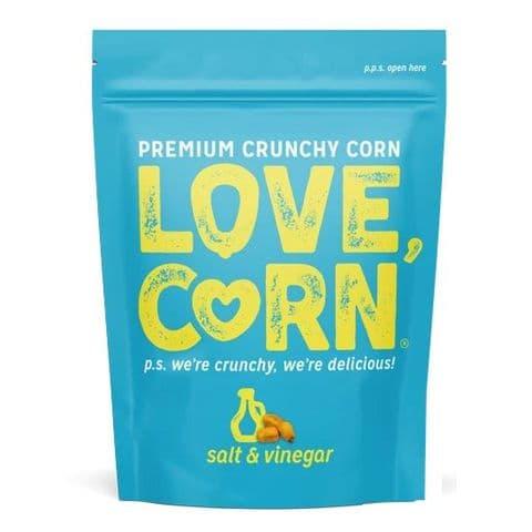 Salt & Vinegar Flavour Premium Savoury Snack Love Corn 45g