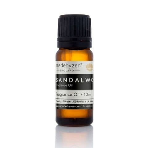 SANDALWOOD - Classic Scented Fragrance Oil Made By Zen 10ml