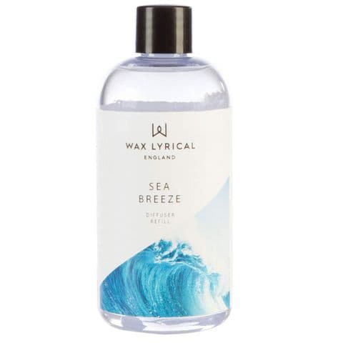Sea Breeze Fragranced Reed Diffuser Refill Made In England Wax Lyrical 200ml