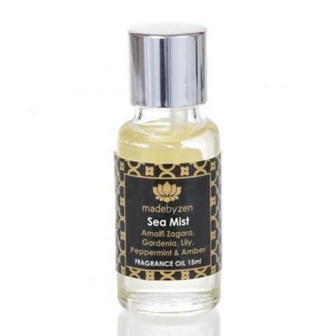 Sea Mist - Signature Scented Fragrance Oil Made By Zen 15ml