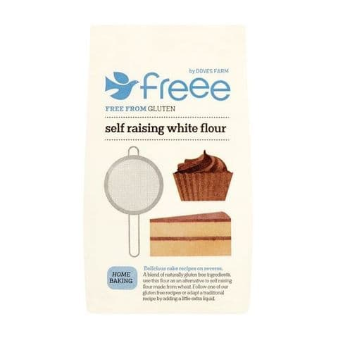 Self Raising White Flour Gluten Free Doves Farm 1kg