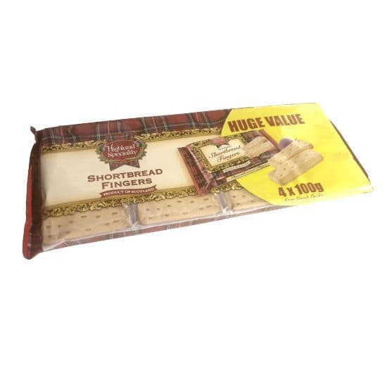 Shortbread Fingers Highland Speciality Value Pack 400g