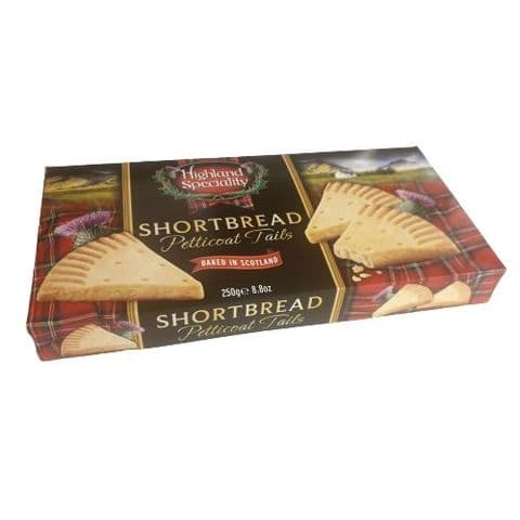 Shortbread Petticoat Tails Highland Speciality Gift Box 250g