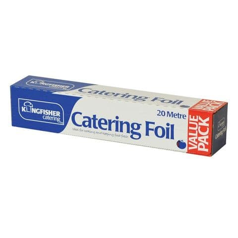 Silver Foil Value Pack Kingfisher Catering (30cm x 20m)