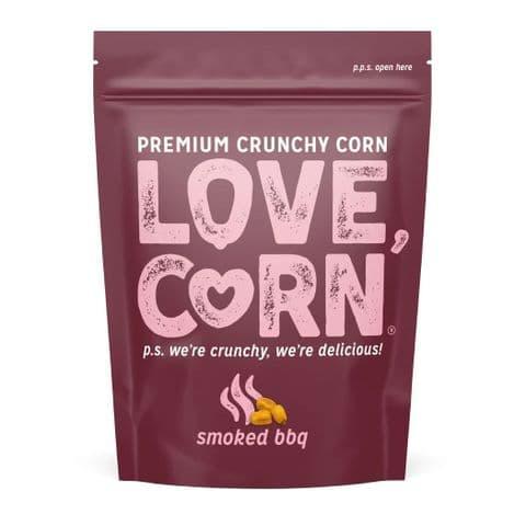 Smoked BBQ Flavour Premium Savoury Snack Love Corn 45g