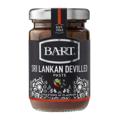 Sri Lankan Devilled Paste Hot Spice Infusions Jar Bart 90g